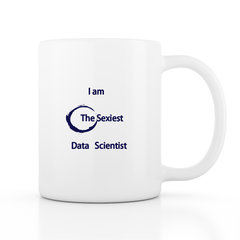 The Sexiest Data Scientist 馬克杯 - 藍色款-cover