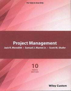 Project Management: A Managerial Approach, 10/e (Paperback)-cover