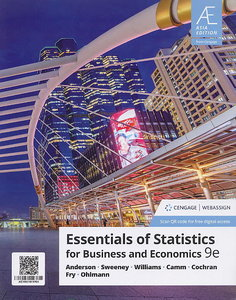 Essentials of Statistics for Business and Economics, 9/e (IE-Paperback)【內含Access Code,經刮除不受退】-cover