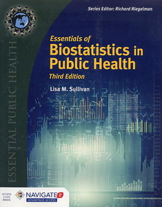 Essentials of Biostatistics in Public Health, 3/e (Paperback)【內含Access Code,經拆封不受退】-cover