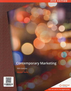 Contemporary Marketing, 18/e (IE-Paperback)【內含Access Code,經刮除不受退】-cover