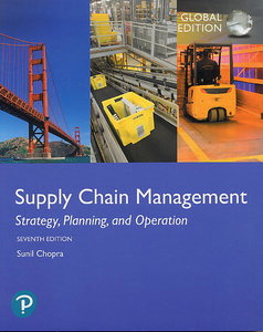Supply Chain Management, 7/e (Paperback)-cover