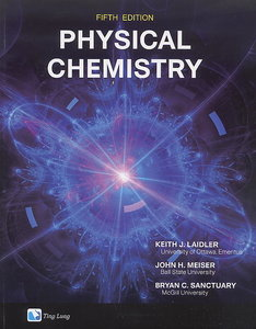 Physical Chemistry, 5/e (Paperback)-cover