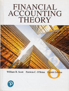 Financial Accounting Theory, 8/e (Hardcover)