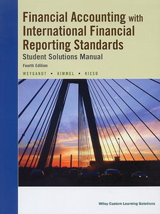 Financial Accounting IFRS, 4/e (Student Solutions Manual)(Paperback)-cover