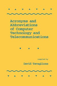 Acronyms and Abbreviations of Computer Technology and Telecommunications-cover