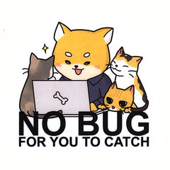 No bug for you to catch 刀模貼紙-cover