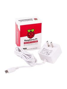 Raspberry Pi 樹莓派 5.1V / 3A USB-C 電源供應器|官方原廠電源(15.3W Type-C)-cover