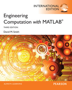 Engineering Computation with MATLAB, 3/e (IE-Paperback)-cover
