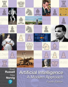 Artificial Intelligence: A Modern Approach, 4/e (美國原版)-cover