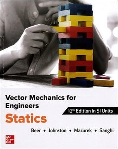 Vector Mechanics for Engineers: Statics, 12/e (Paperback)-cover