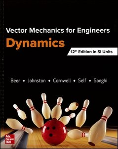 Vector Mechanics for Engineers: Dynamics, 12/e (Paperback)-cover