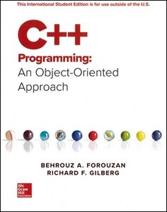 C++ Programming: An Object-Oriented Approach (Paperback)-cover