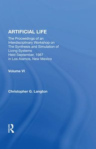 Artificial Life: Proceedings of an Interdisciplinary Workshop on the Synthesis and Simulation of Living Systems-cover