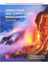 Operations and Supply Chain Management: The Core, 5/e (Paperback)-cover