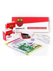 Raspberry Pi 4 Desktop Kit 官方版桌機套件(含Pi 4/4G + 鍵盤/滑鼠 + micro HDMI轉HDMI線x2 + 電源 + 外殼 + 教學手冊 + 16GB SD卡)-cover