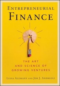 Entrepreneurial Finance (Paperback)-cover