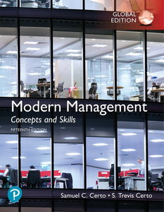 Modern Management Concepts and Skills, 15/e (Paperback)-cover