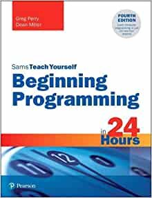 Beginning Programming in 24 Hours, Sams Teach Yourself-cover