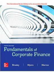 Fundamentals of Corporate Finance, 10/e (Paperback)-cover