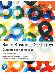 Basic Business Statistics: Concepts and Applications, 14/e (GE-Paperback)-cover