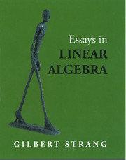 Essays in Linear Algebra-cover