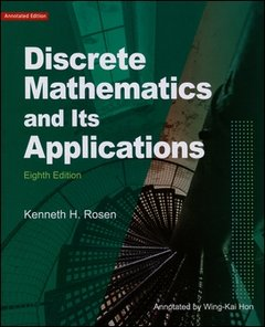 Discrete Mathematics and Its  Applications, 8/e (Rosen)(離散數學原文導讀本)-cover
