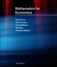 Mathematics for Economics (Hardcover)-cover