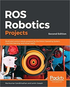 ROS Robotics Projects, 2/e (Paperback)-cover