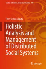 Holistic Analysis and Management of Distributed Social Systems-cover