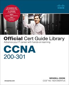 CCNA 200-301 Official Cert Guide Library-cover
