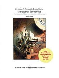 Managerial Economics: Foundations of Business Analysis and Strategy, 12/e (Paperback)-cover