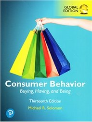 Consumer Behavior: Buying, Having, and Being, 13/e (Paperback)-cover