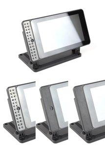 SmartiPi Touch 2 Raspberry Pi 官方7吋觸控螢幕專用外殼站立架(二代,Pi 4適用)