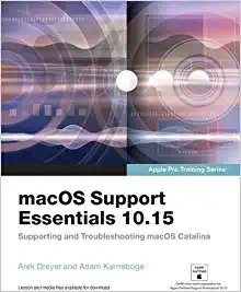 Macos Support Essentials 10.15 - Apple Pro Training Series: Supporting and Troubleshooting Macos Catalina-cover