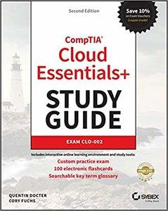 CompTIA Cloud Essentials+ Study Guide: Exam CLO-002 Second Edition-cover