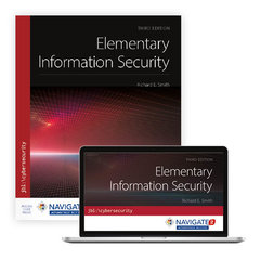 Elementary Information Security, 3/e (Paperback)-cover