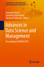 Advances in Data Science and Management: Proceedings of Icdsm 2019-cover