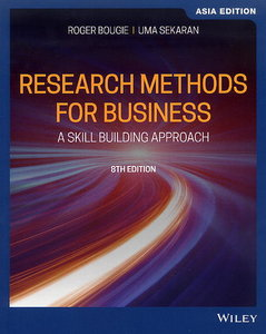 Research Methods for Business, 8/e (Asia Edition)(Paperback)-cover