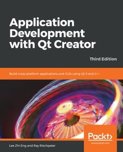 Application Development with Qt Creator-Third Edition-cover