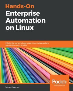 Hands-On Enterprise Automation on Linux-cover