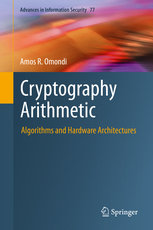 Cryptography Arithmetic: Algorithms and Hardware Architectures-cover