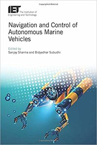Navigation and Control of Autonomous Marine Vehicles-cover