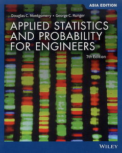 Applied Statistics and Probability for Engineers, 7/e (Paperback)(Asia Edition)-cover
