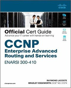 CCNP Enterprise Advanced Routing Enarsi 300-410 Official Cert Guide-cover
