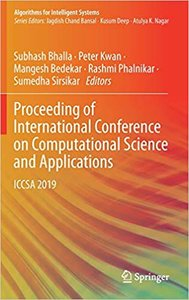 Proceeding of International Conference on Computational Science and Applications: Iccsa 2019-cover