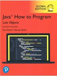 Java How To Program - Late Objects Version, 11/e (GE-Paperback) -cover
