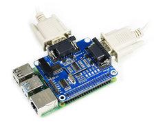 Raspberry Pi 2路 RS232 擴充板-cover