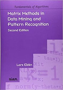 Matrix Methods in Data Mining and Pattern Recognition, 2/e-cover