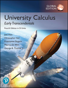 University Calculus-Early Transcendentals in SI Units, 4/e (IE-Paperback)-cover